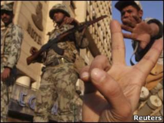 मिस्र के सैनिक