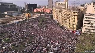 Демонстрації в Каїрі.