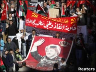 Unjuk rasa di Yordania