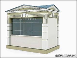 Проект торгового павильона с сайта Москомархитектуры mka.mos.ru