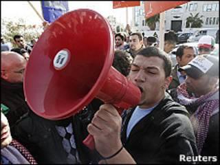 Протестующие в Иордании