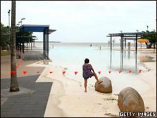 На берегу моря в штате Квинсленд