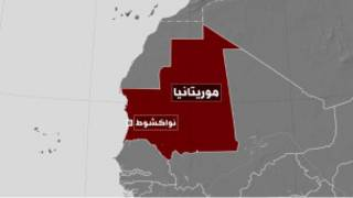 خريطة موريتانيا