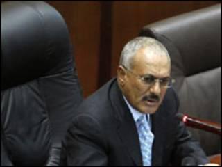 Ali Abdullah Saleh, Shugaban Yemen