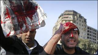 Сутички у Каїрі.