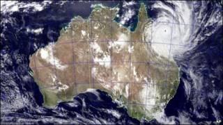 peta meteorologi badai Yasi