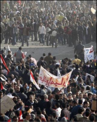 Столкновения в центре Египта