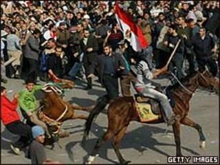 Confronto no Cairo