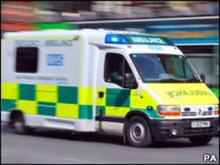 Машина скорой помощи в Великобритании