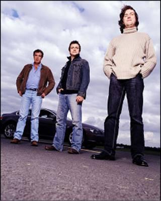 Los presentadores de Top Gear