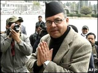 नेपाली प्रधानमंत्री झलनाथ खनाल