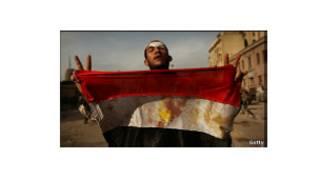 متظاهر في مصر