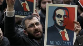 مسيرات تركية مؤيدة للاحتجاجات في مصر