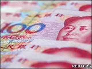 Moeda chinesa (arquivo/Reuters)