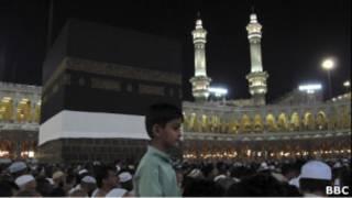 حجاج في مكة