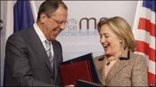 Лавров і Клінтон