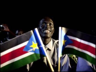 مردم جنوب سودان خود را برای جشن اعلام نتیجه همه پرسی آماده می کنند