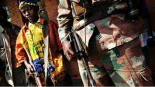 Abari mu barwanyi muri DRC