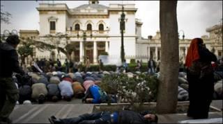 मिस्र की संसद का घेराव