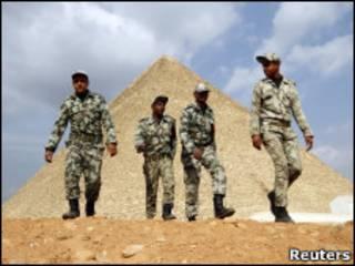 Египетские солдаты