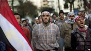 Учасники протестів у четвер в Каїрі біля парламенту