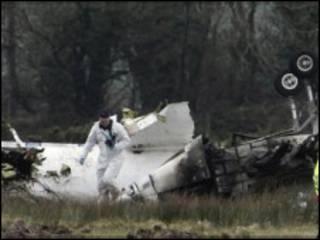 Разбившийся в аэропорту Корка самолет