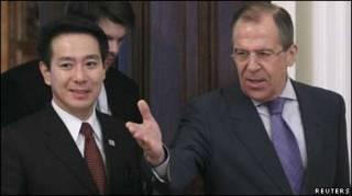 Міністри закордонних справ Маєхара і Лавров
