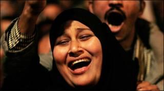 Người dân Ai Cập ăn mừng