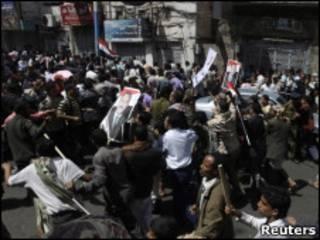 تظاهرات در یمن