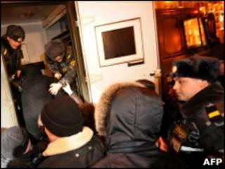 Арест оппозиционеров в Минске