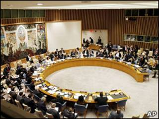 O Conselho de Segurança da ONU