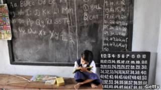 Anak sekolah di India