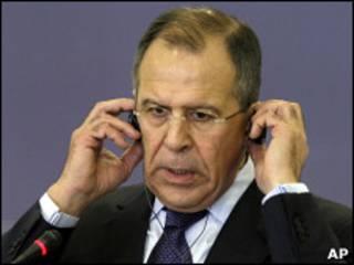 Россия Ташқи ишлар вазири Лавров