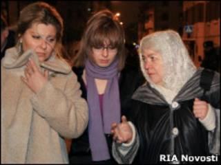 Жена, дочь и мать Михаила Ходорковского