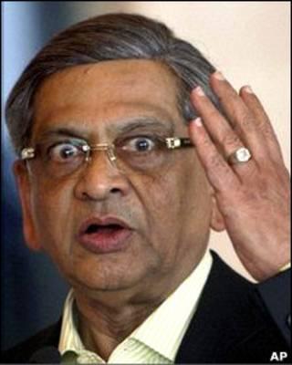 Министр иностранных дел Индии Соманахалли Малайя Кришна