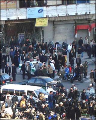 تظاهرات 25 بهمن در تهران