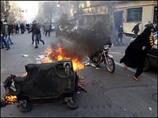 Maandamano ya raia nchini Iran