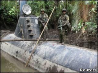 Подводная лодка в Колумбии