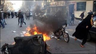 Người phản đối tại Tehran