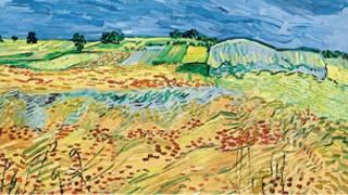 احدى لوحات فان كوخ