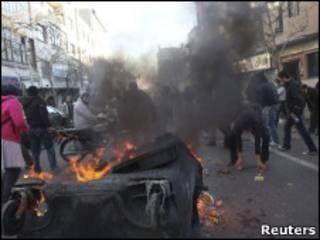 Массовые акции протеста в Иране