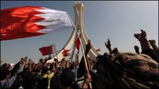 جانب من مظاهرات دوار اللؤلؤة