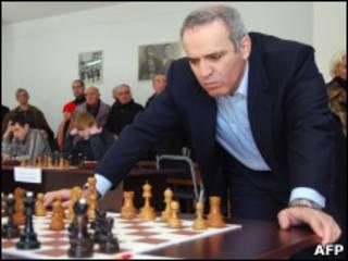 Гарри Каспаров в Тбилиси