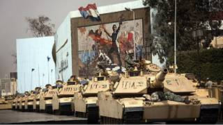 مركبات تابعة للجيش المصري