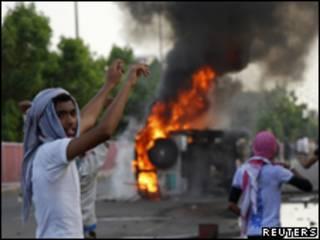 Protestos em Aden