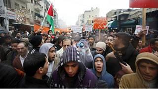 مظاهرات اردنية