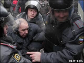 """Разгон """"Дня гнева"""" в Москве"""