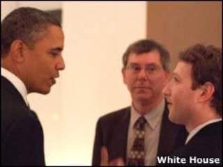 Цукерберг и Обама
