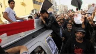 تشييع ضحايا الاشتباكات في البحرين