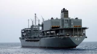 السفينة الحربية خرق